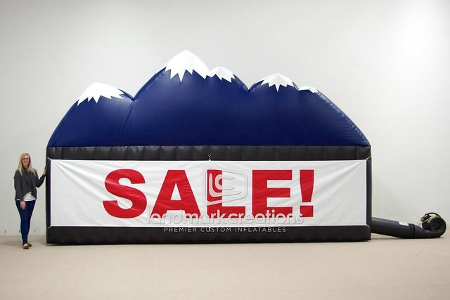 Denver Mattress pany Inflatable Sale Logo