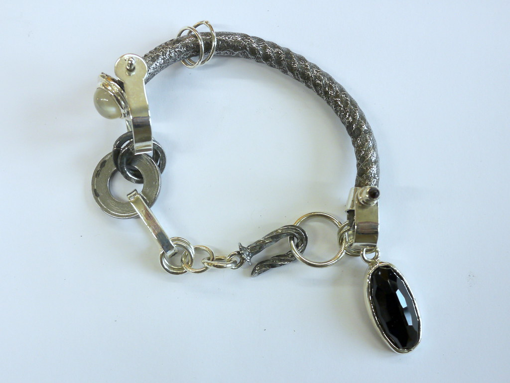 Excursion on a Wobbly Nail - 1 | Bracelet made for the ...