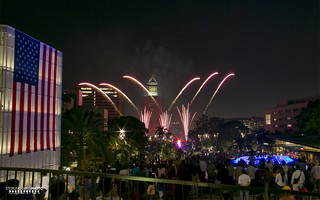 Fireworks display at Grand Park | by STERLINGDAVISPHOTO