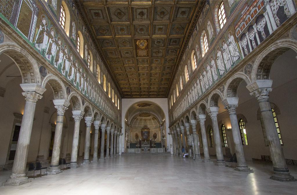 Inside Sant Apollinare Nuovo Quot The Basilica Of Sant