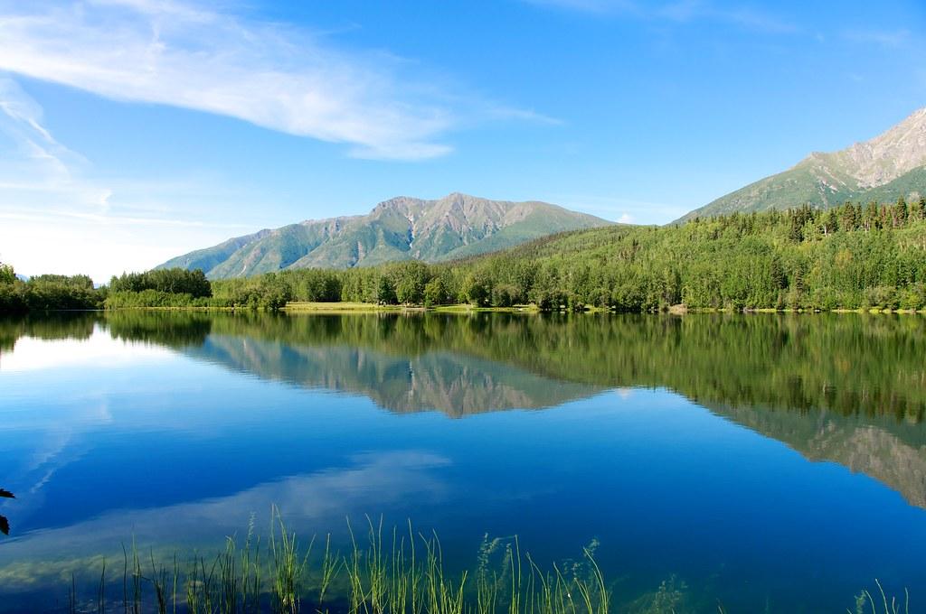 Wrangler Park Lake A Lake In Wrangler St Elias