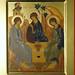 2014 Icône de la Sainte Trinité - The Holy Trinity Icon - Main de - Hand of  Angelina Tsinsadze