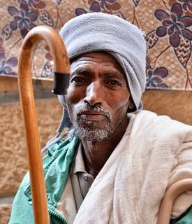 African elder from the Tigray region of Ethiopia.