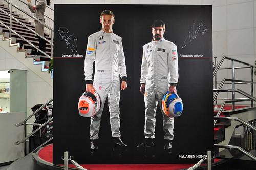 McLaren-Honda(マクラーレン・ホンダ) F1  MP4-30 展示車