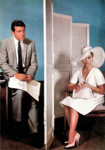 Jane Fonda and Efrem Zimbalist in The Chapman Report (1962)