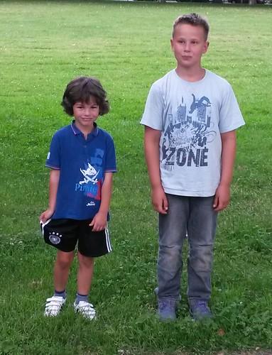 Luka und Timo, die neuen Jugendsprecher