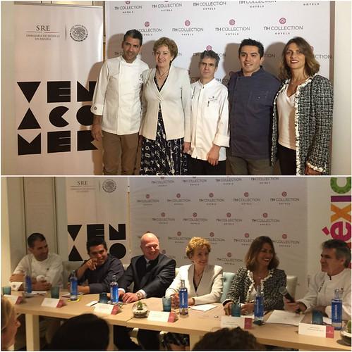 La Embajada de México, ProMéxico y NH Hoteles celebran las Jornadas Gastronómicas Mexicanas