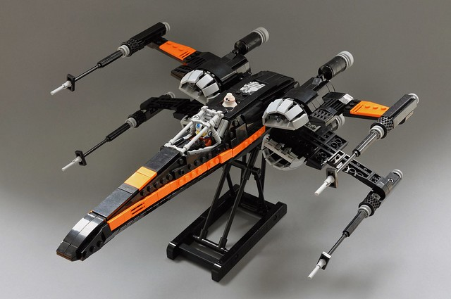 Poe's T-70 X-wing, by Inthert, on Flickr
