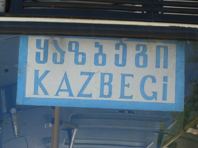 Señal a Kazbegi