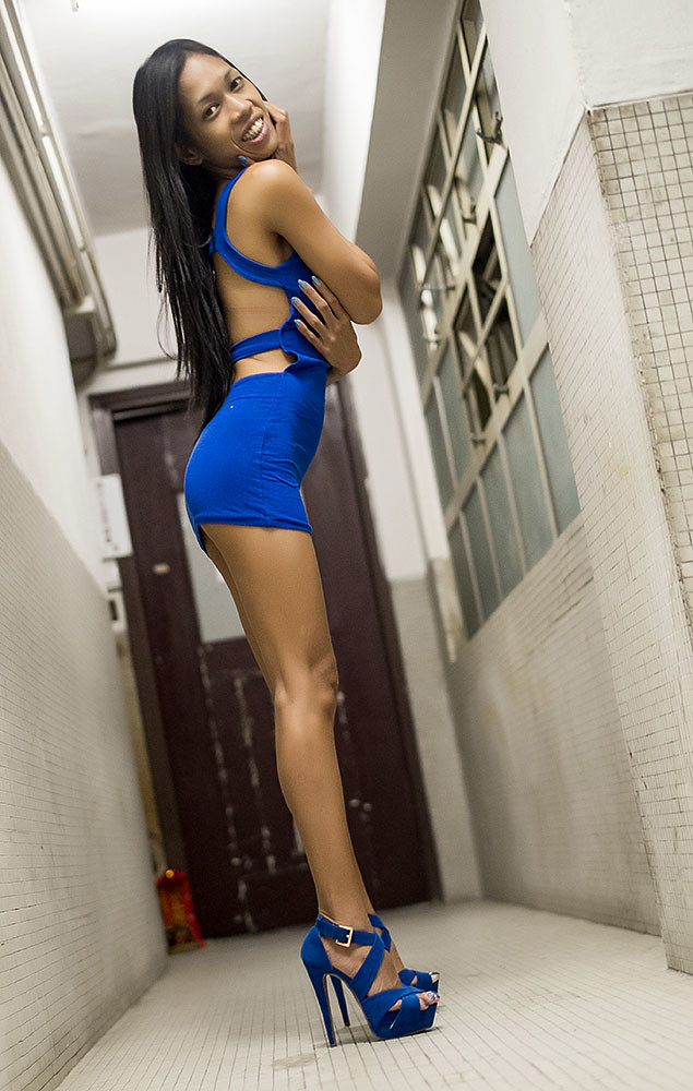 Blue And Leggy  Sexy Kuting  Flickr-8552