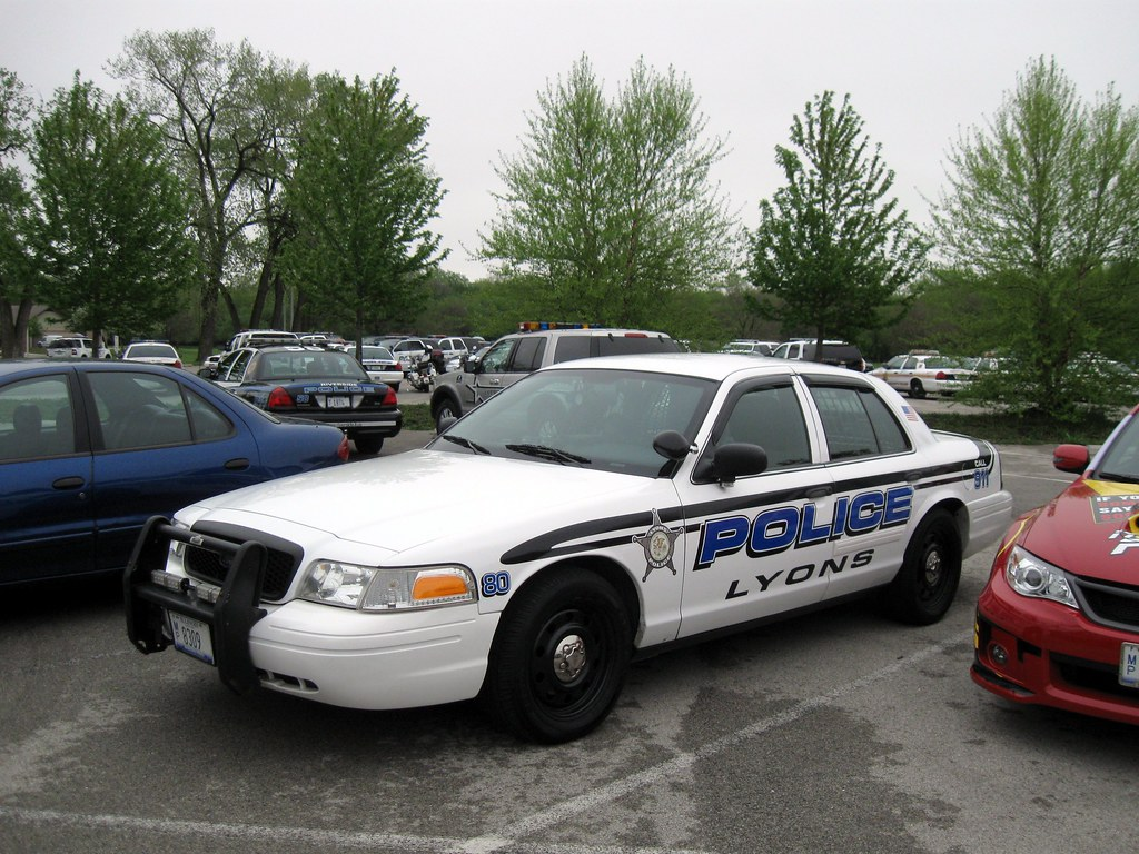 il lyons police department car 80 inventorchris flickr. Black Bedroom Furniture Sets. Home Design Ideas