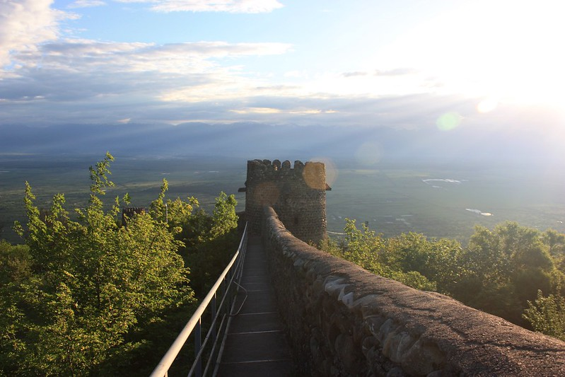 Крепостная стена в Сигнахи, Кахетия