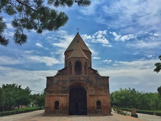 Iglesia de Shoghakat (Echmiadzín, Armenia)