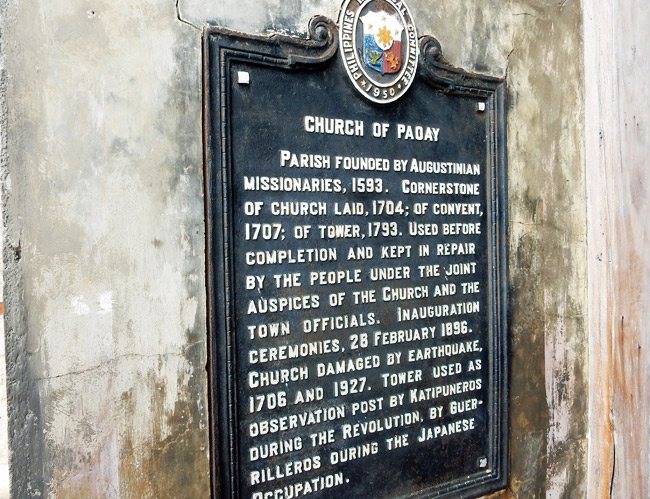 church-of-paoay-sign