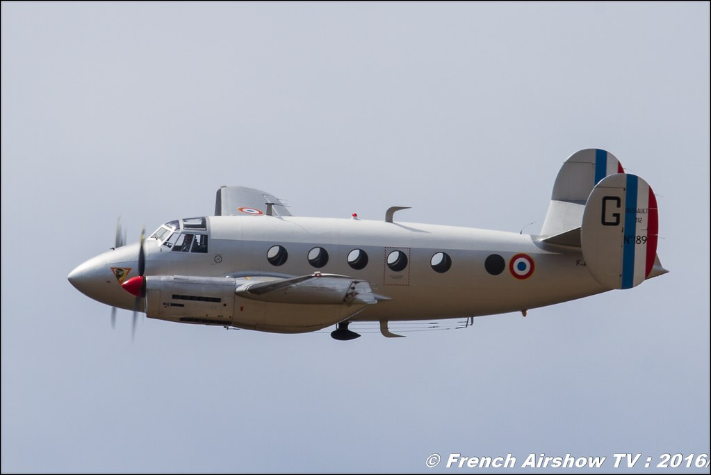 Dassault MD-312 Flamant - F-AZVG , Meeting de l'air BA-125 Istres 2016 , Meeting Aerien 2016