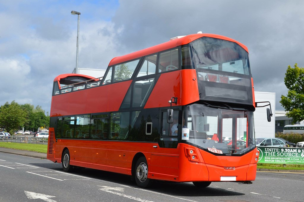 Lothian New Open Topper With Wrightbus Body Work And Volvo