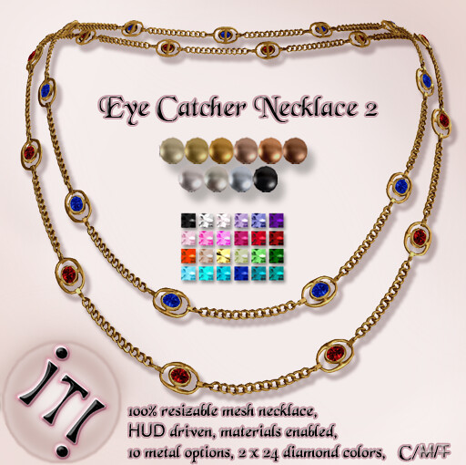 !IT! - The Eye Catcher Necklace 2 Image