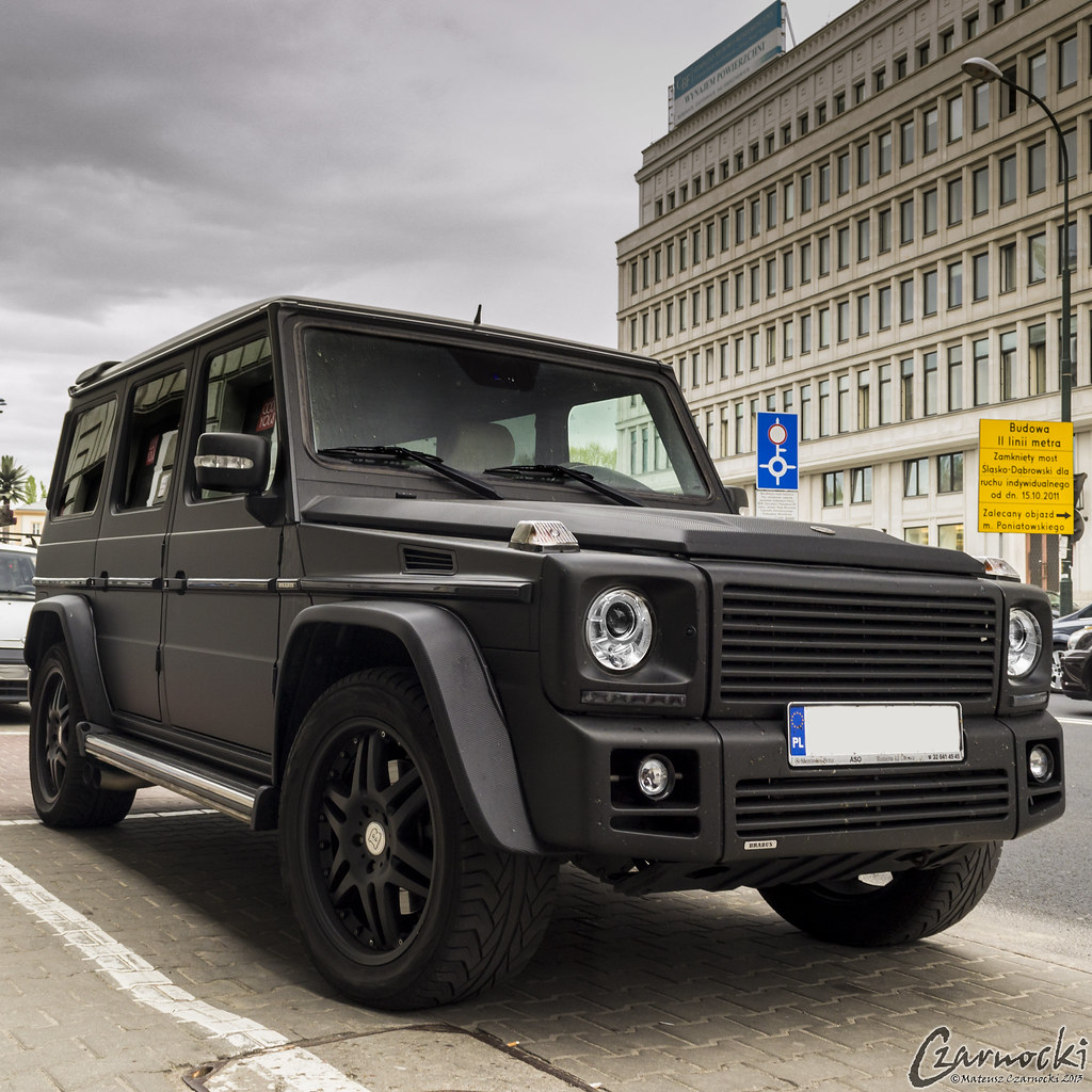Mercedes Benz G55 Amg Brabus Now If Only It Was A