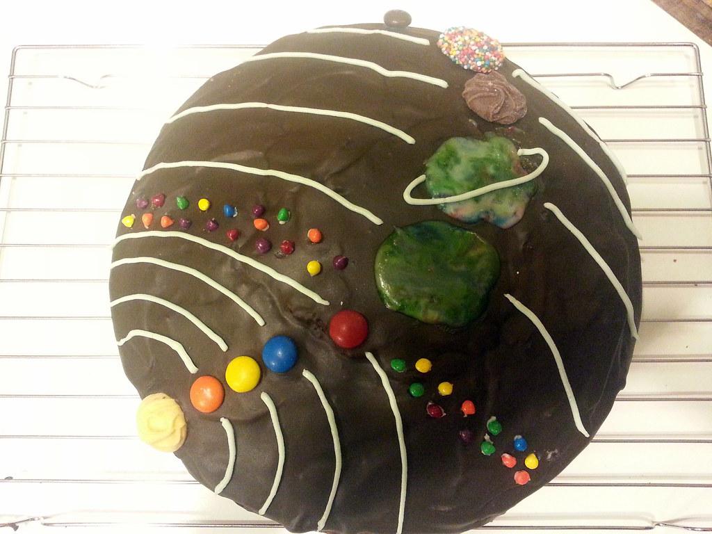 3d solar system birthday cake - photo #43