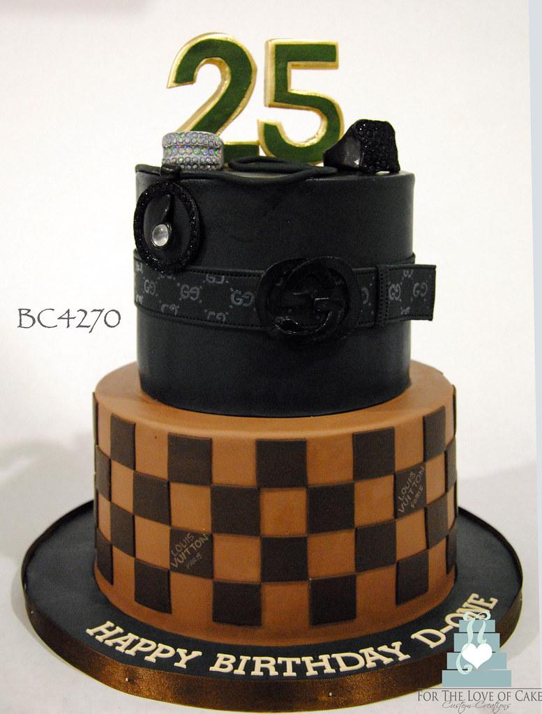 Bc4270 Lv Gucci Birthday Cake Toronto Oakville Bc4270 2
