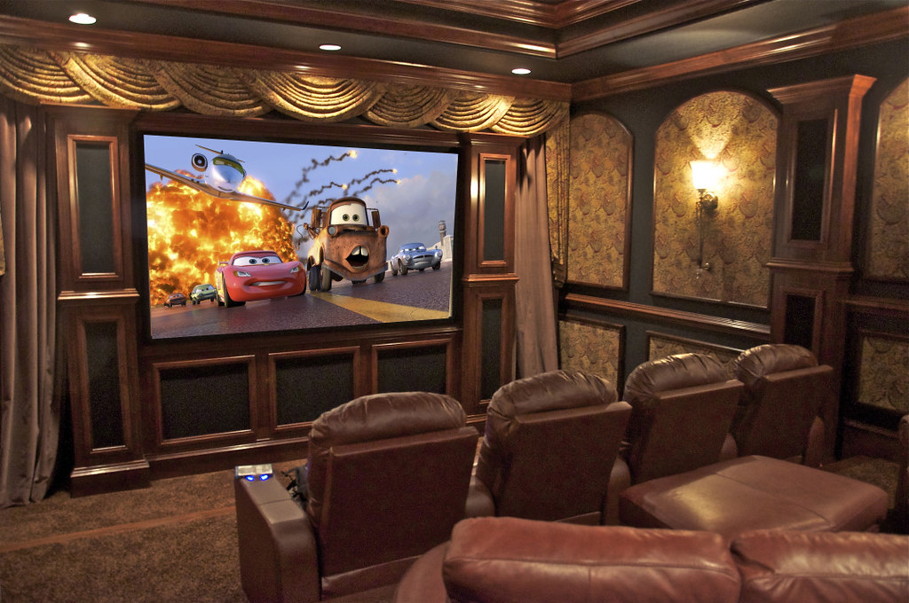 Home Theater Installation By Electronic Creations Flickr