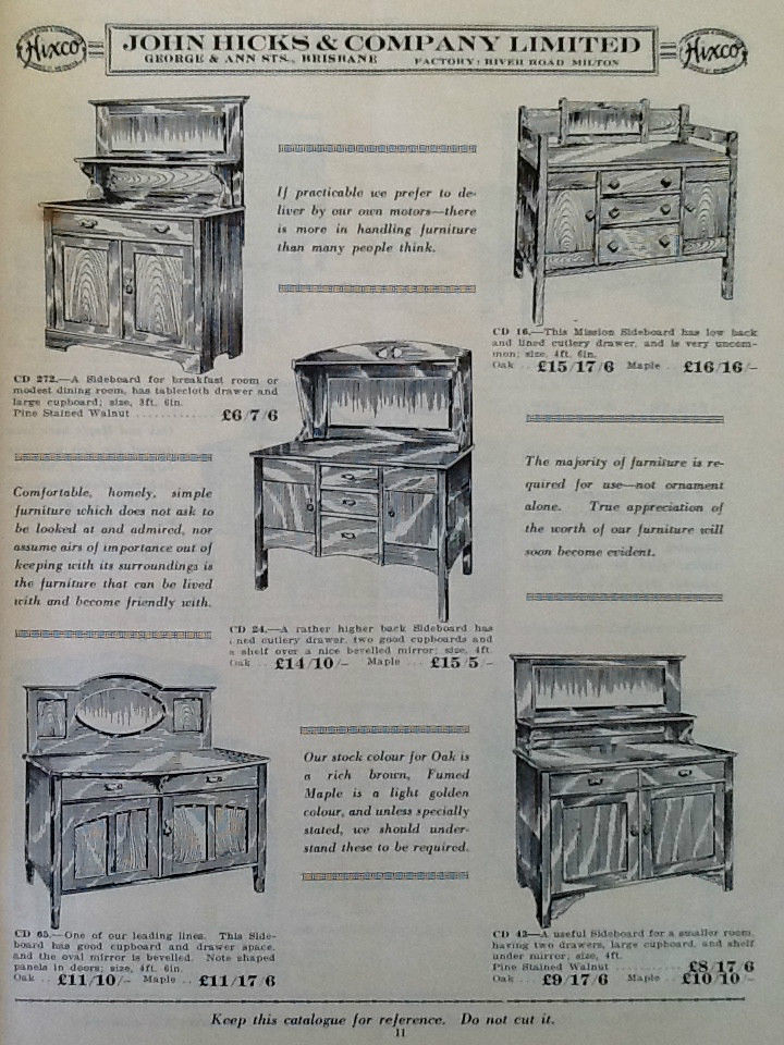 John Hicks And Company Brisbane Furniture Catalogue Flickr