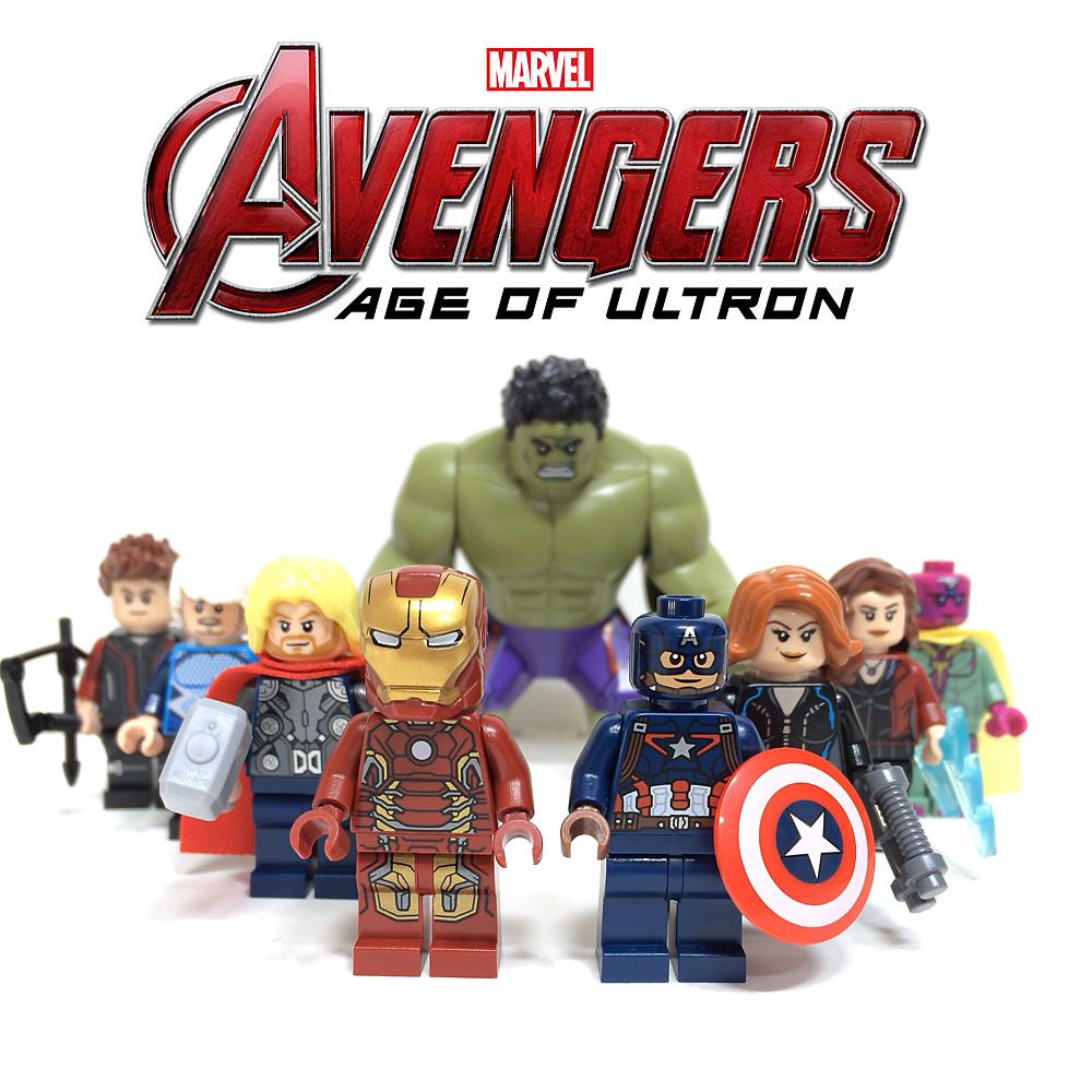 LEGO AVENGERS : AGE OF ULTRON MINIFIGURES | LEGO AVENGERS ...