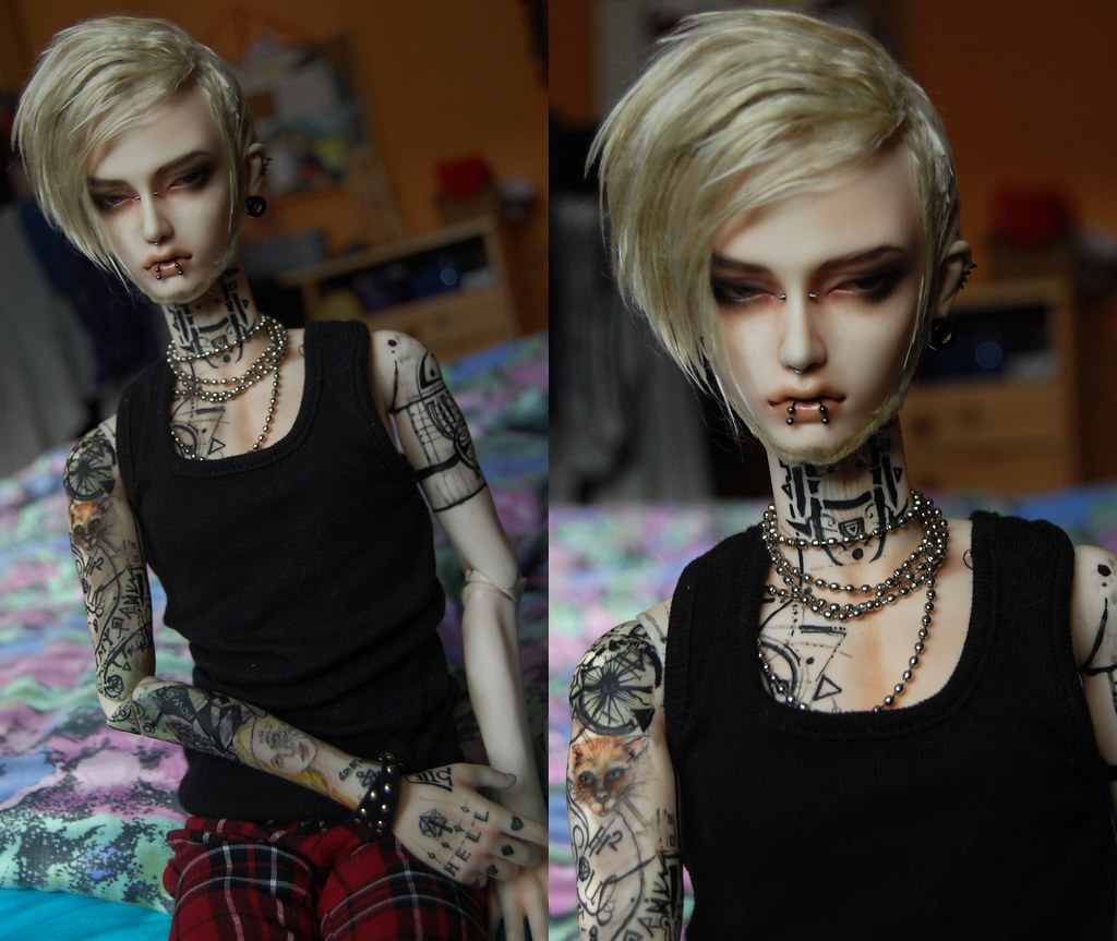 Tattoo Fixers Psychobilly Girl Punk: The Tattoos, Face Up And Wig Did Originl