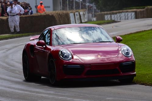 Paul Rees, Porsche 911 Turbo S, Goodwood Festival of Speed 2016