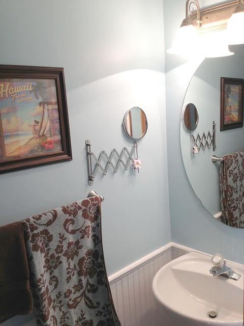 Sports Themed Bathroom Decor