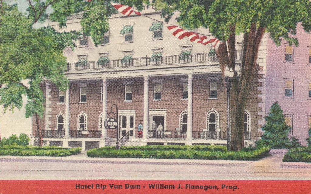 Hotel rip van dam saratoga springs new york the rip for New hotels in saratoga springs ny