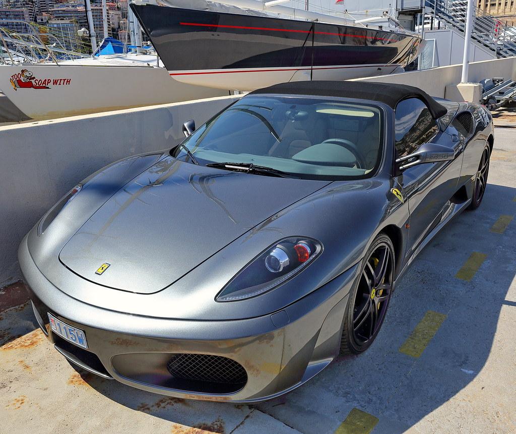 Cenário 3d Ferrari F430 Modelo 3d: See It From A Diffrent Angle @ Port Hercule