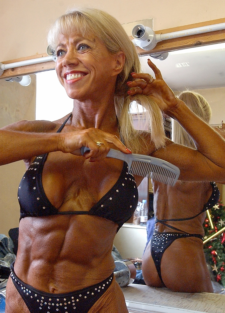 28/09/03.Mr and Miss Northern Body Building competition at