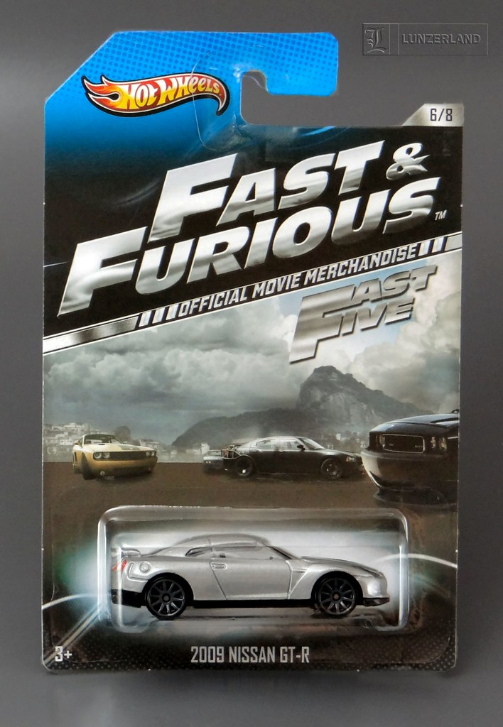 Fast Amp Furious 2009 Nissan Gt R From Fast Five Mint On