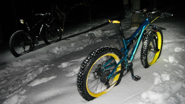 Brown County Snow Night Ride