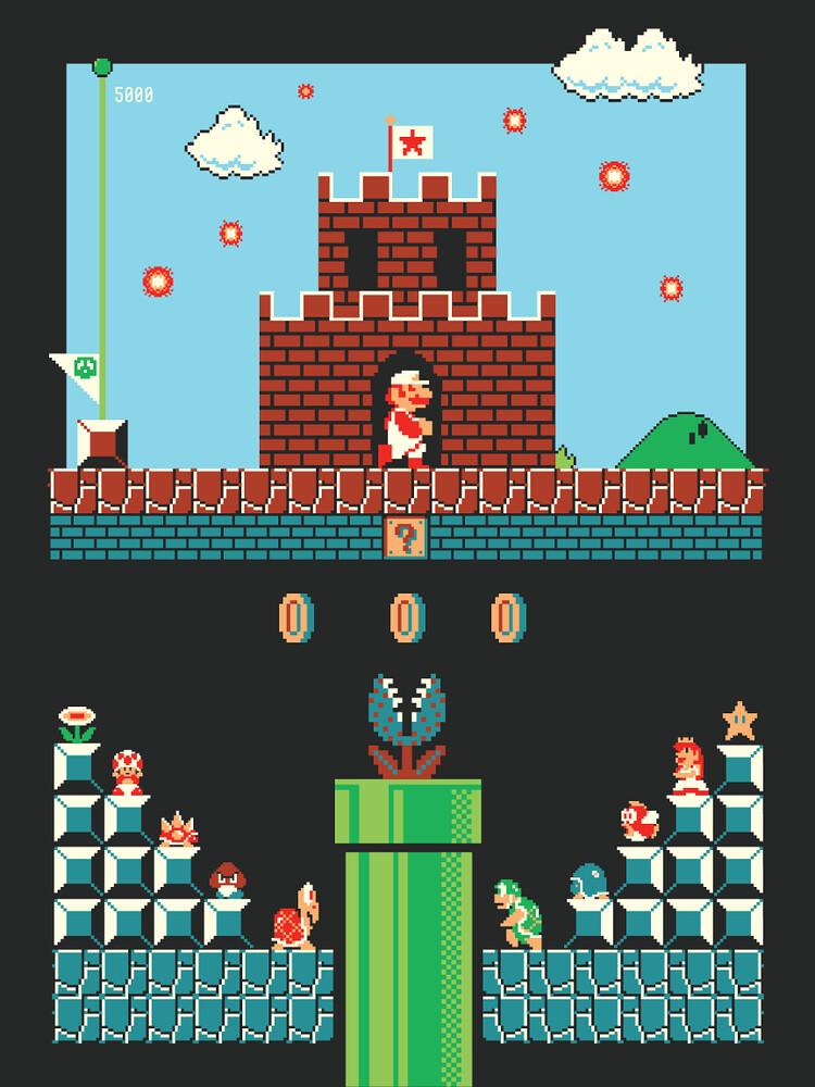 Super Mario Bros. by Harlan Elam