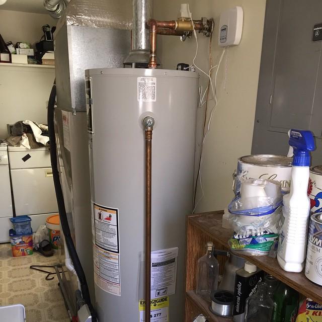 New Water Heater Now Kitchen Sink Doesnt Work