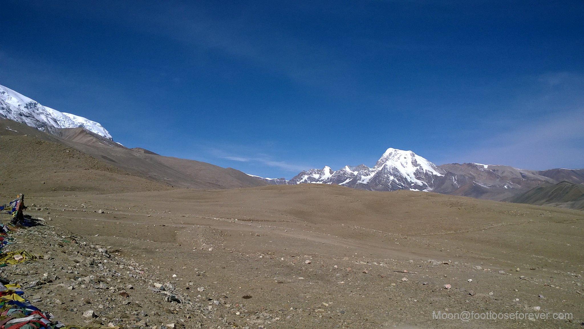 Gurudongmar, north sikkim, landscape