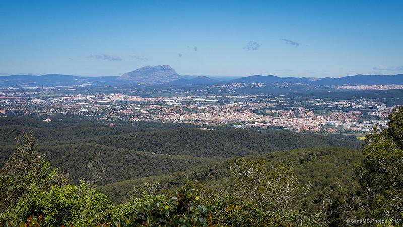 Montserrat desde el Turó de Magarola