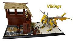Viking Tales of Dragon Woes by mkjosha