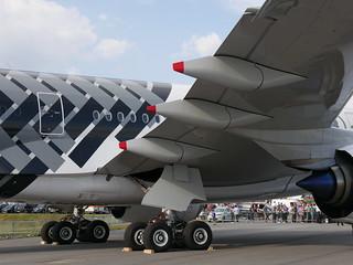 Airbus A350: Fahrwerk