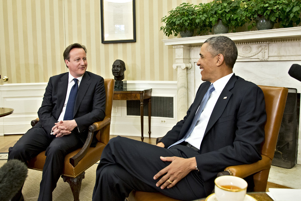 President Obama welcomes PM to Washington