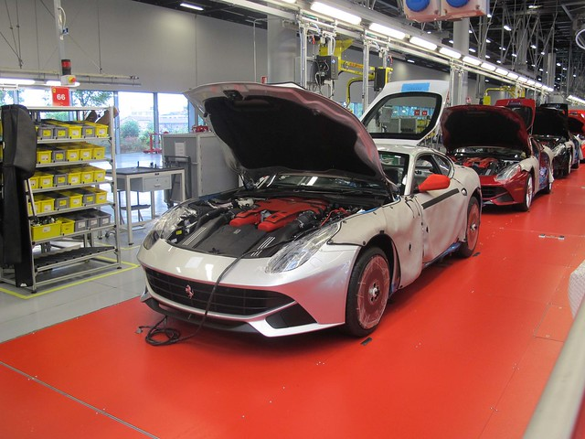 Ferrari Factory Tour In Maranello Italia 43 Flickr