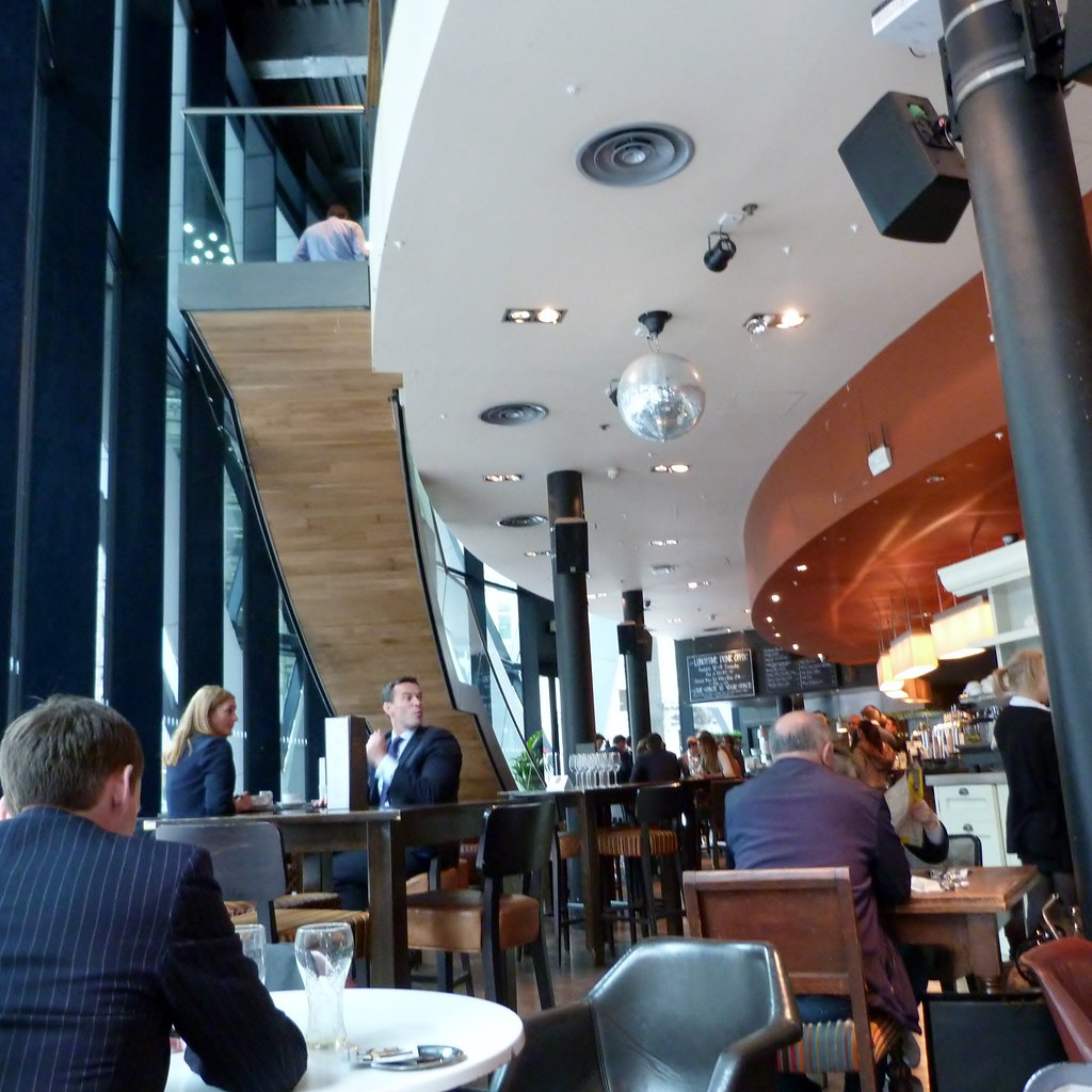 INSIDE THE STERLING BAR AT THE GHERKIN (3) | Gill Griffin ...