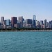 chicago skyline pano