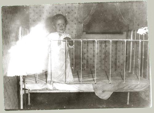 Child in playpen