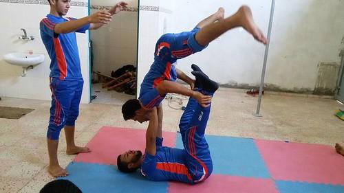 La scuola di circo a Gaza