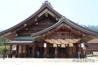 出雲大社拝殿3