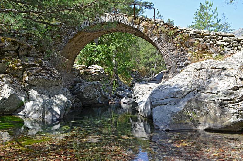 Genoese bridge, Olmi Cappella, Corsica