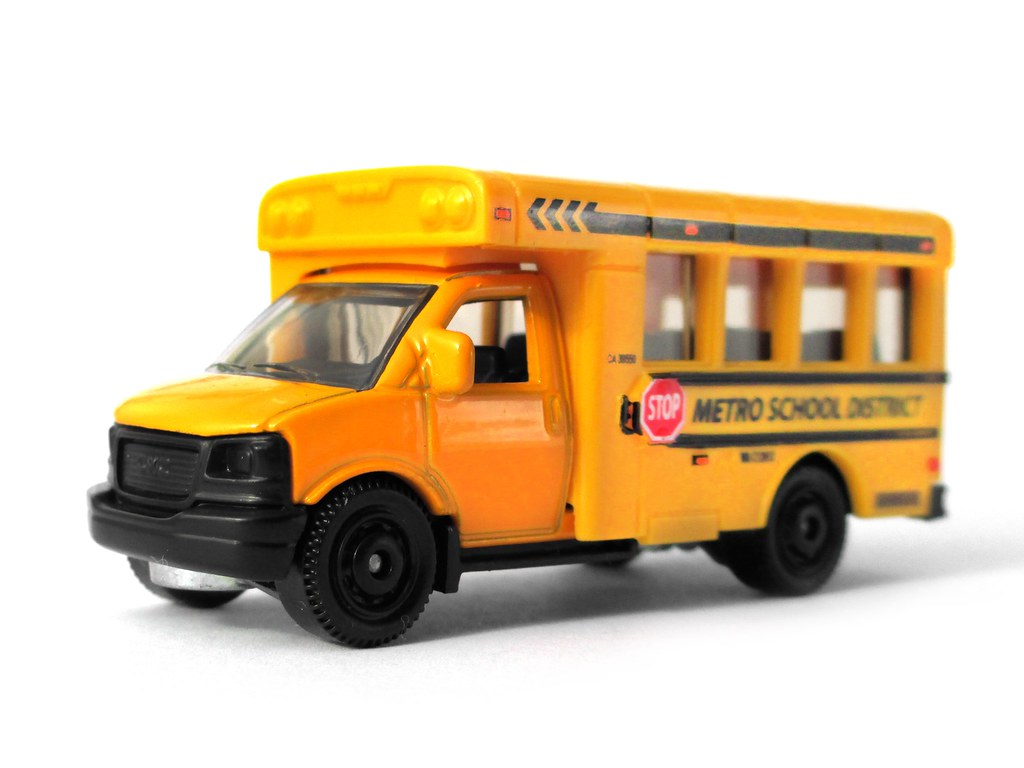 Matchbox Gmc School Bus A Local Cheap Store Decided To